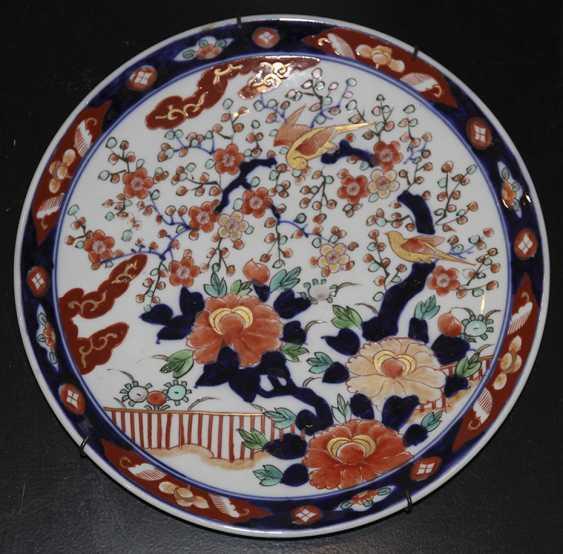 A pair of wall plates. Japan - photo 1
