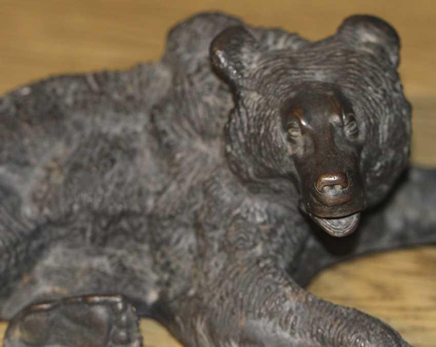 """A bear lying down."" Liberia - photo 2"