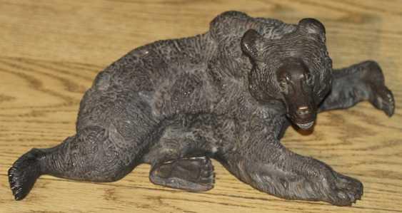 """A bear lying down."" Liberia - photo 3"