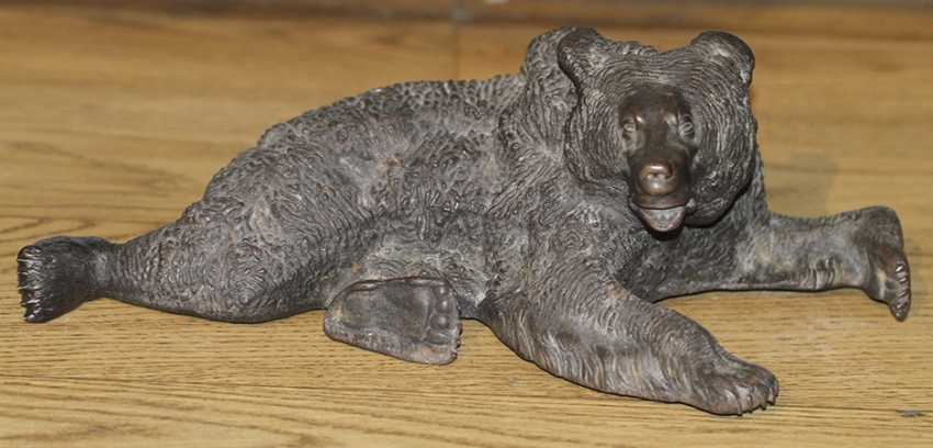 """A bear lying down."" Liberia - photo 1"