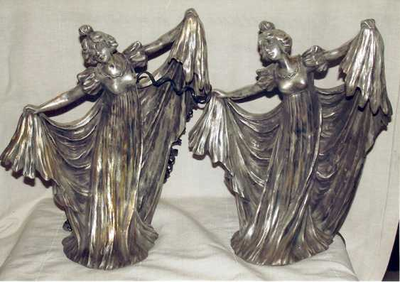 Twin lamps. Modern. 1900-ies - photo 1