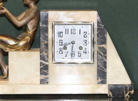 Horloge de cheminée Art Déco, les années 1920, France - photo 2