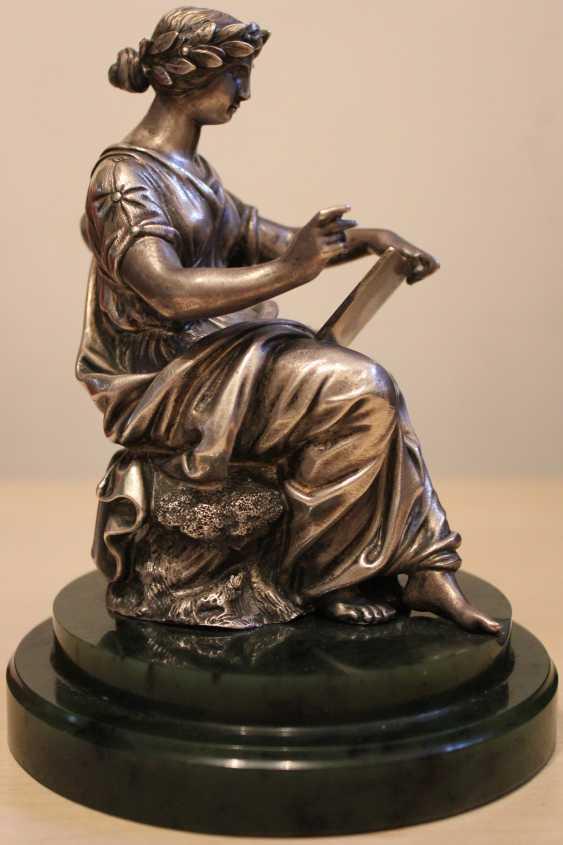 """Sculpture """"Muse calliope"""" , XIX century - photo 3"""