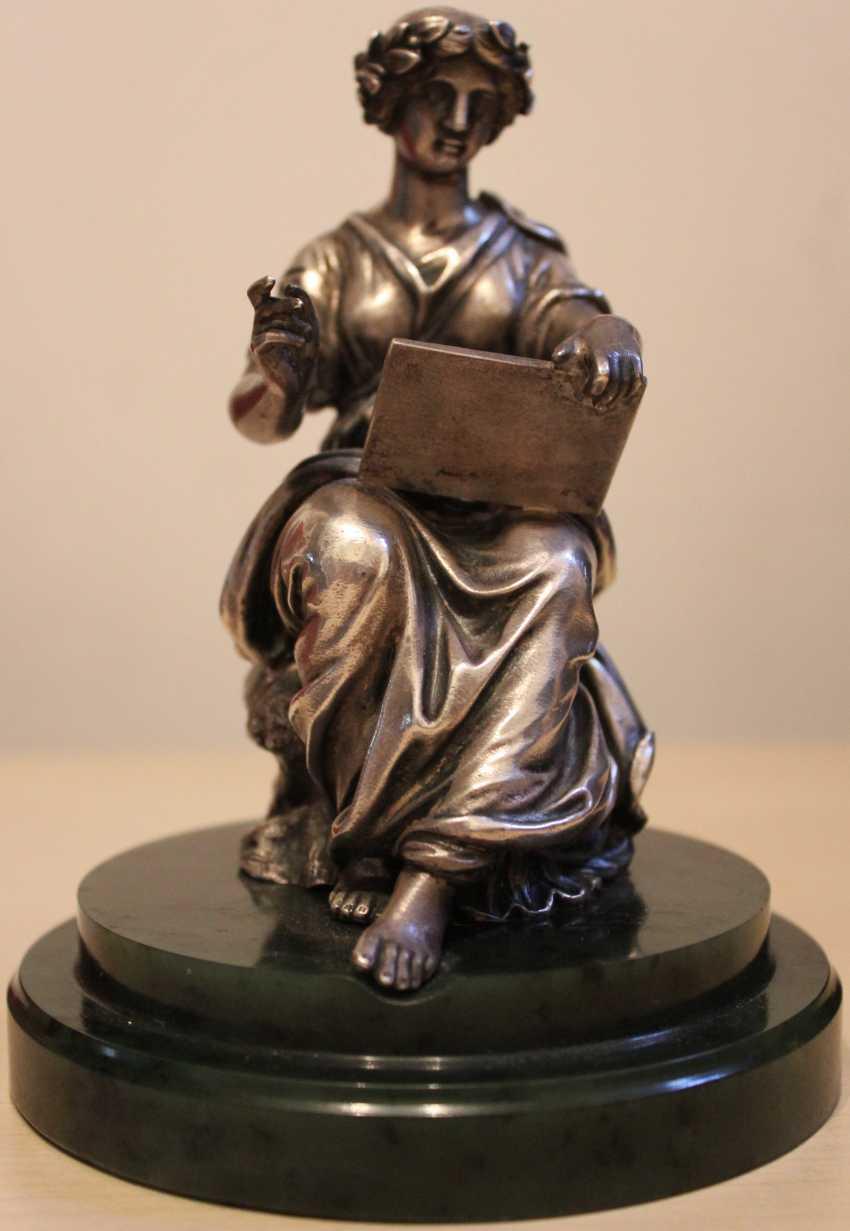"""Sculpture """"Muse calliope"""" , XIX century - photo 2"""