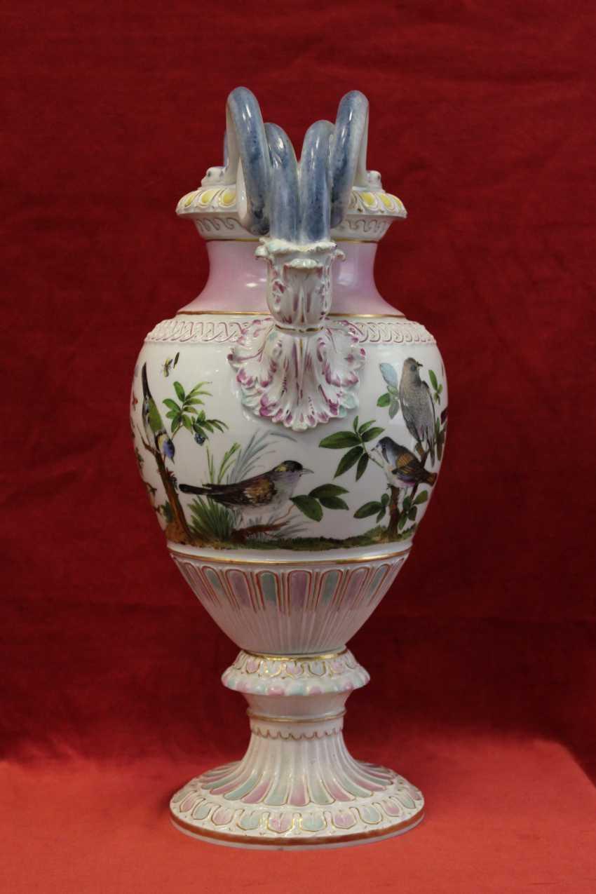 Ваза, Мейсен, XIX век - фото 2
