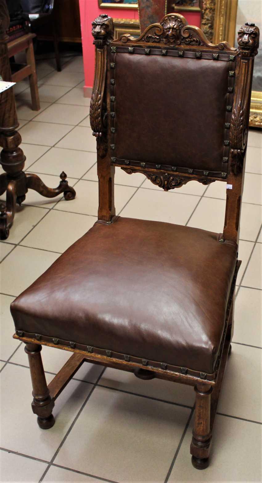 Sessel aus Nussbaum, XIX Jahrhundert - Foto 3