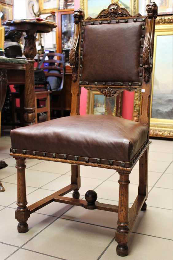 Sessel aus Nussbaum, XIX Jahrhundert - Foto 1