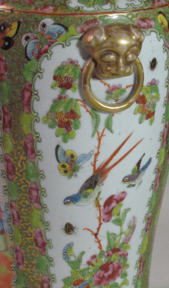 """Vase style of """"Pink family"""" (China, porcelain) - photo 4"""