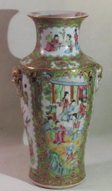 """Vase style of """"Pink family"""" (China, porcelain) - photo 1"""