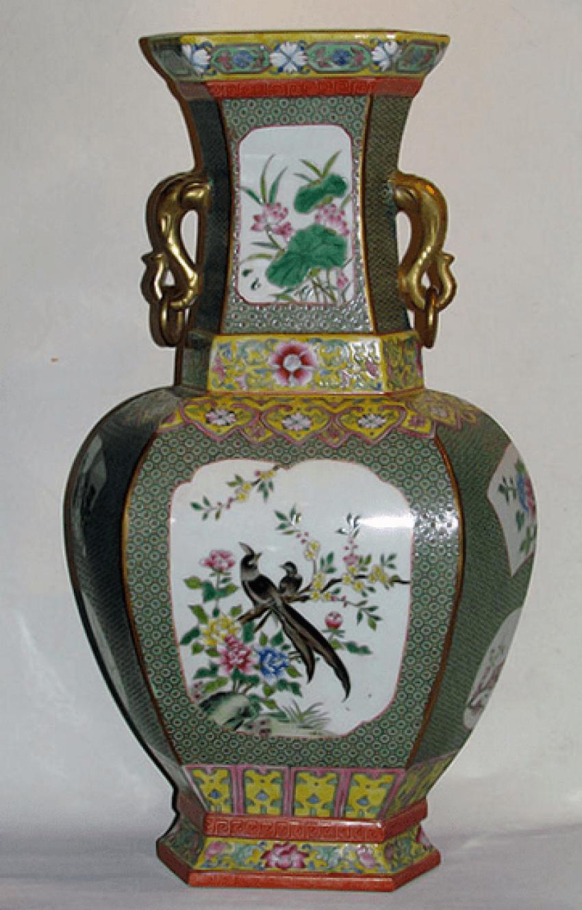 """Vase """"Bagua"""" (China, porcelain) - photo 1"""