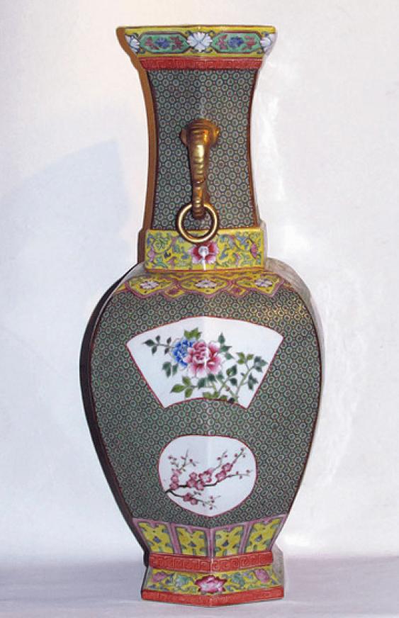 """Vase """"Bagua"""" (China, porcelain) - photo 3"""