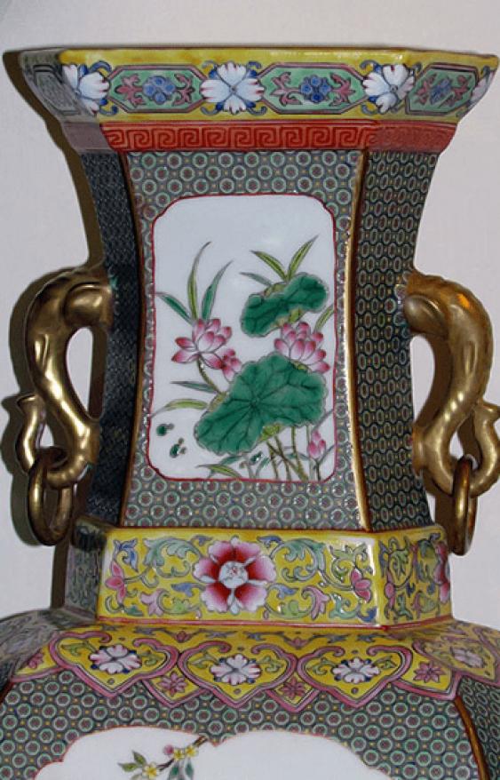 """Vase """"Bagua"""" (China, porcelain) - photo 4"""