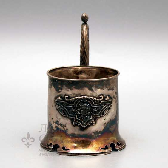 The holder of the company Grachev brothers, silver of the 19th century, 84 sample - photo 2