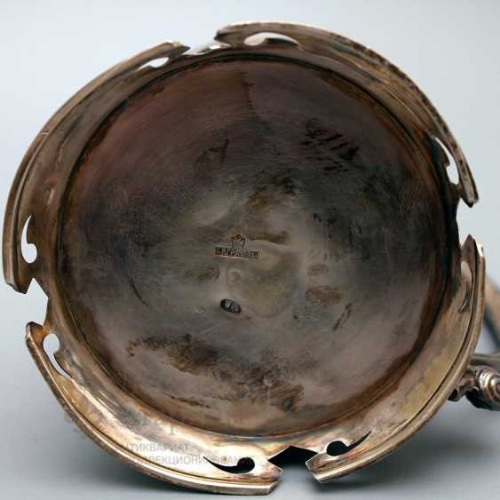 The holder of the company Grachev brothers, silver of the 19th century, 84 sample - photo 3
