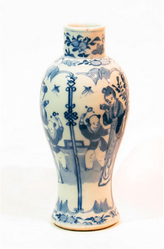 "Vase ""Reading"" of the 19th century. - photo 2"
