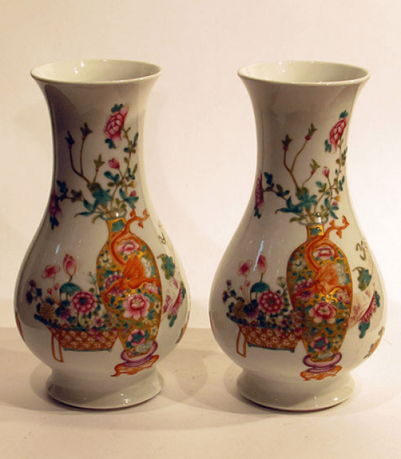 "This pair of vases ""still life"" - photo 1"