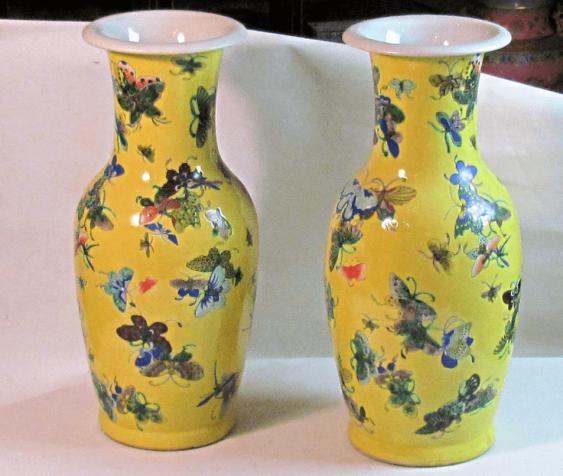 Vasen gepaart China, Porzellan - Foto 1