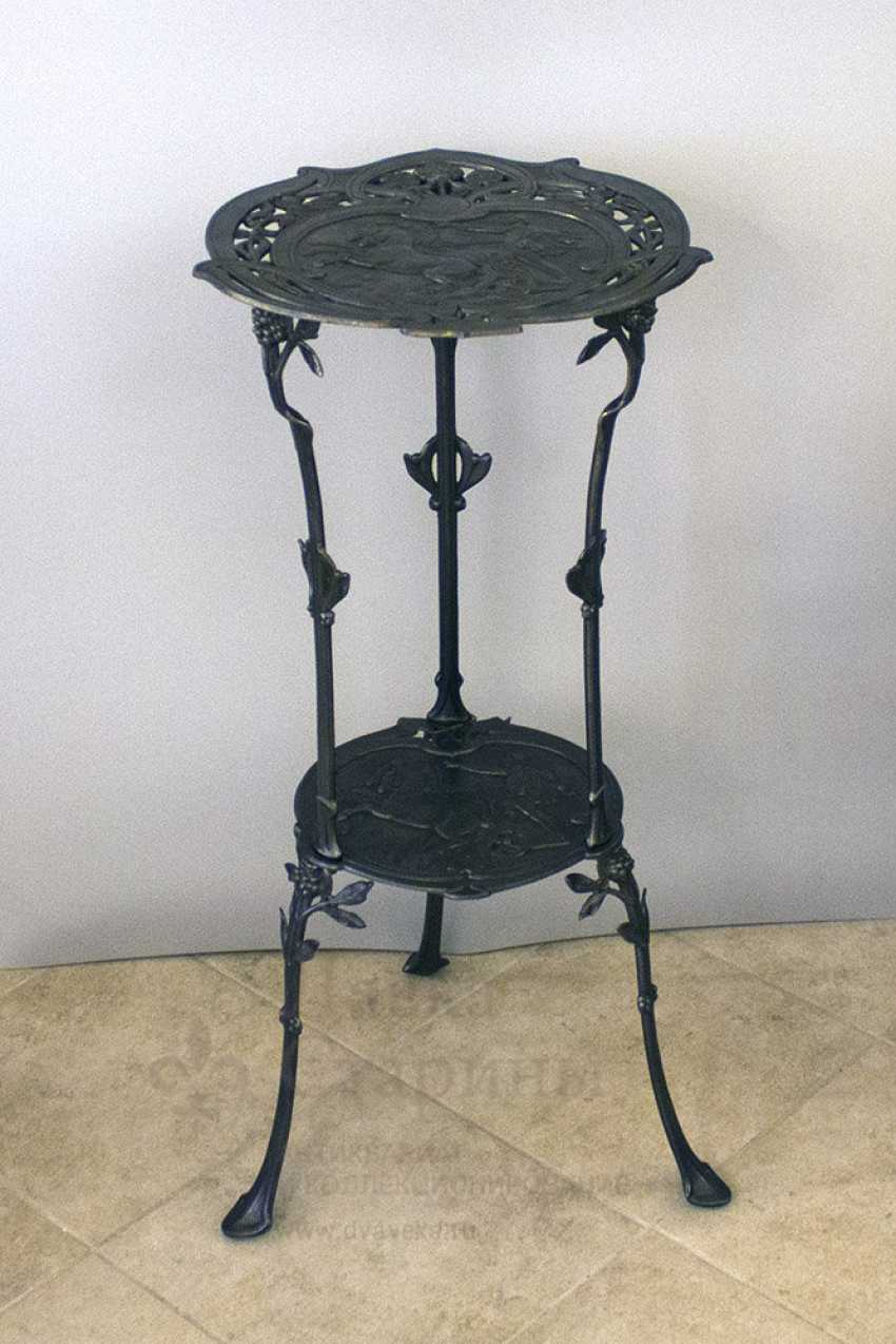 Console antique, cast iron, Europe, 19th century - photo 2