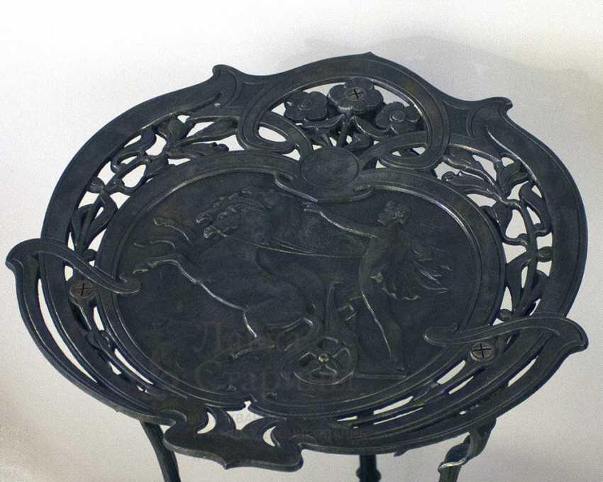 Console antique, cast iron, Europe, 19th century - photo 3
