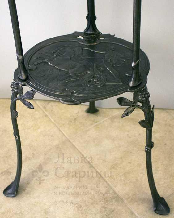Console antique, cast iron, Europe, 19th century - photo 7