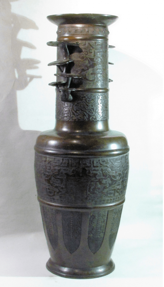 """Vase in the form of """"GUI""""of the 19th century - photo 1"""