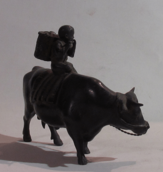 Boy on water Buffalo 19th century. - photo 2