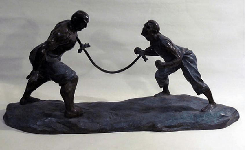 "Sculpture ""Fight with swords"" - photo 1"