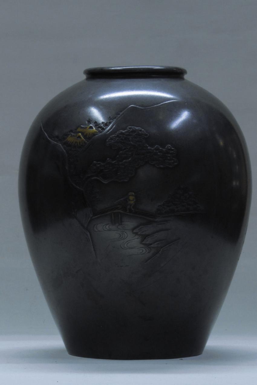 "Vase, Japan""Landscape"". - photo 2"