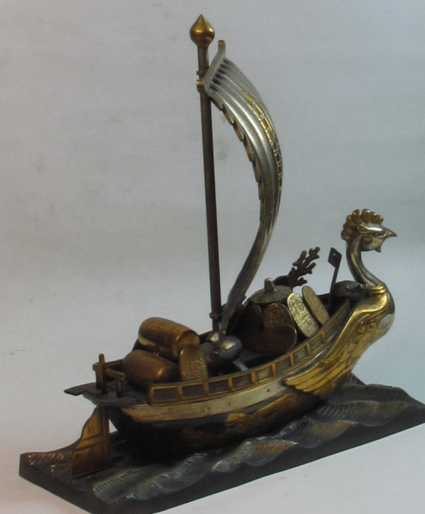 the treasure ship Japan, bronze - photo 2