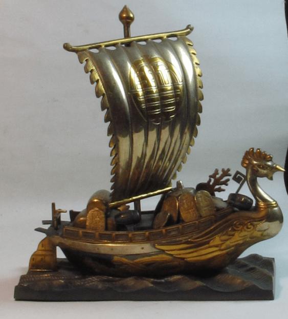 the treasure ship Japan, bronze - photo 1