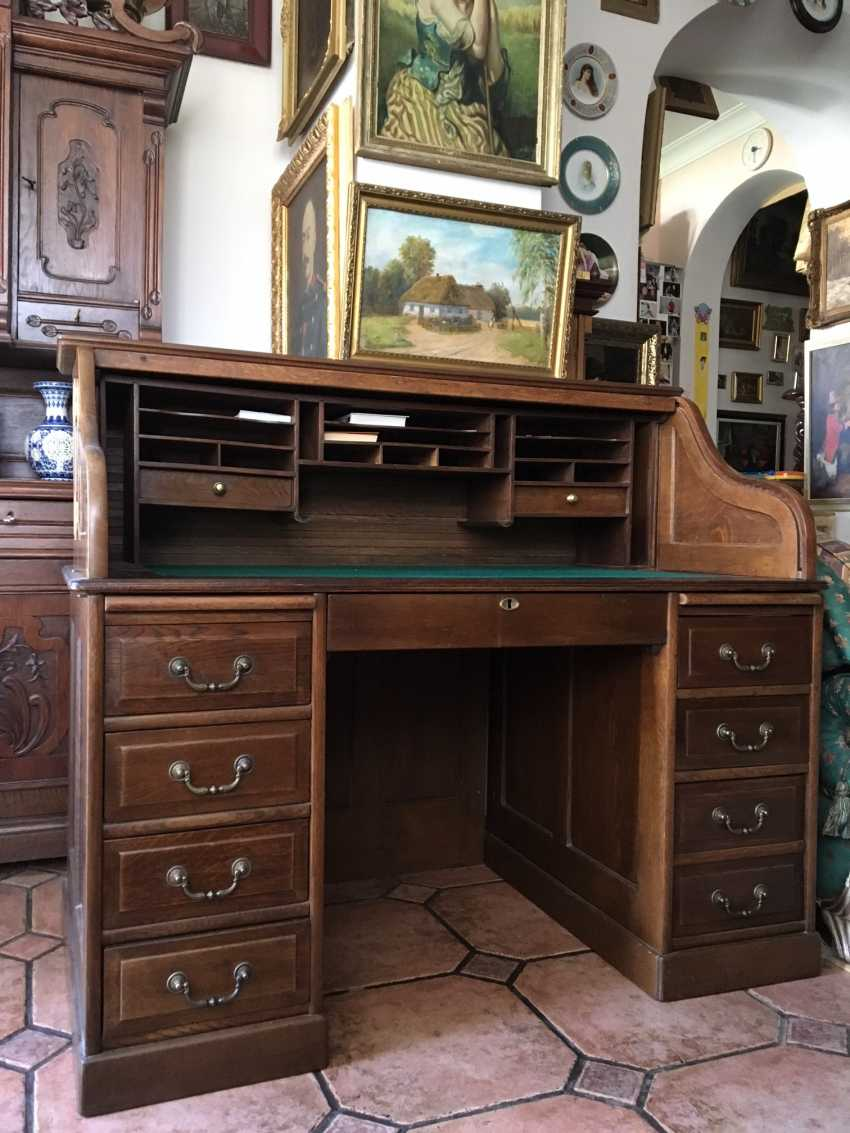 Writing Desk-secretaire, the XIX - beginning of XX centuries - photo 1