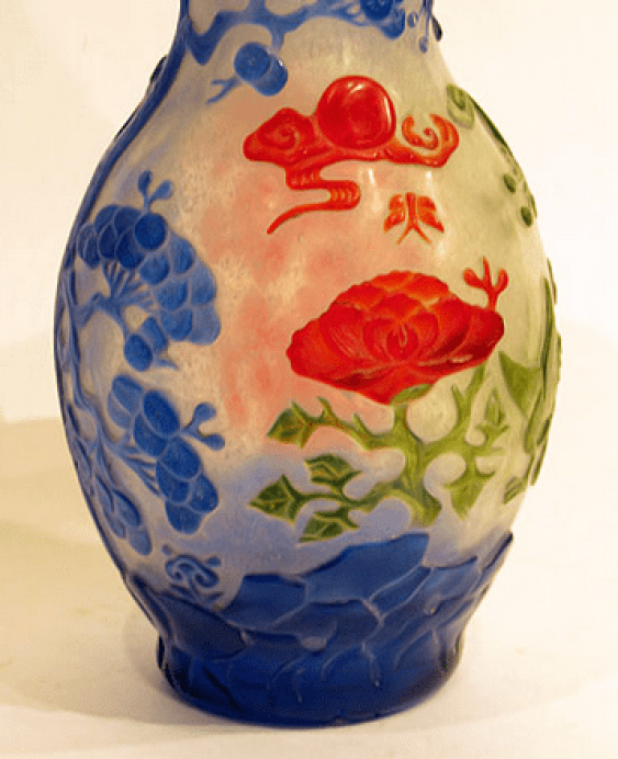 "Vase ""colors of nature""China - photo 3"