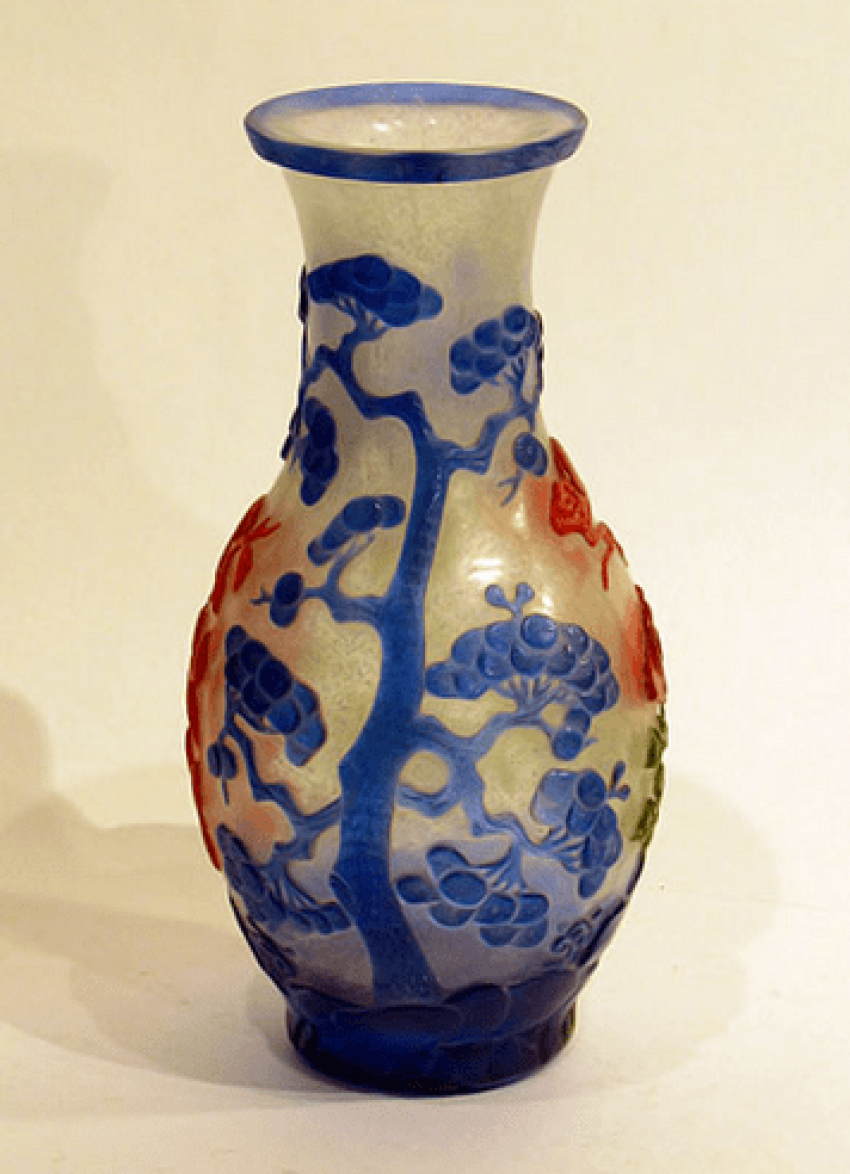 "Vase ""colors of nature""China - photo 4"