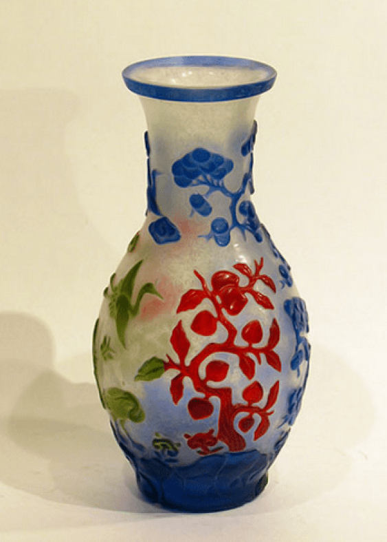 "Vase ""colors of nature""China - photo 2"