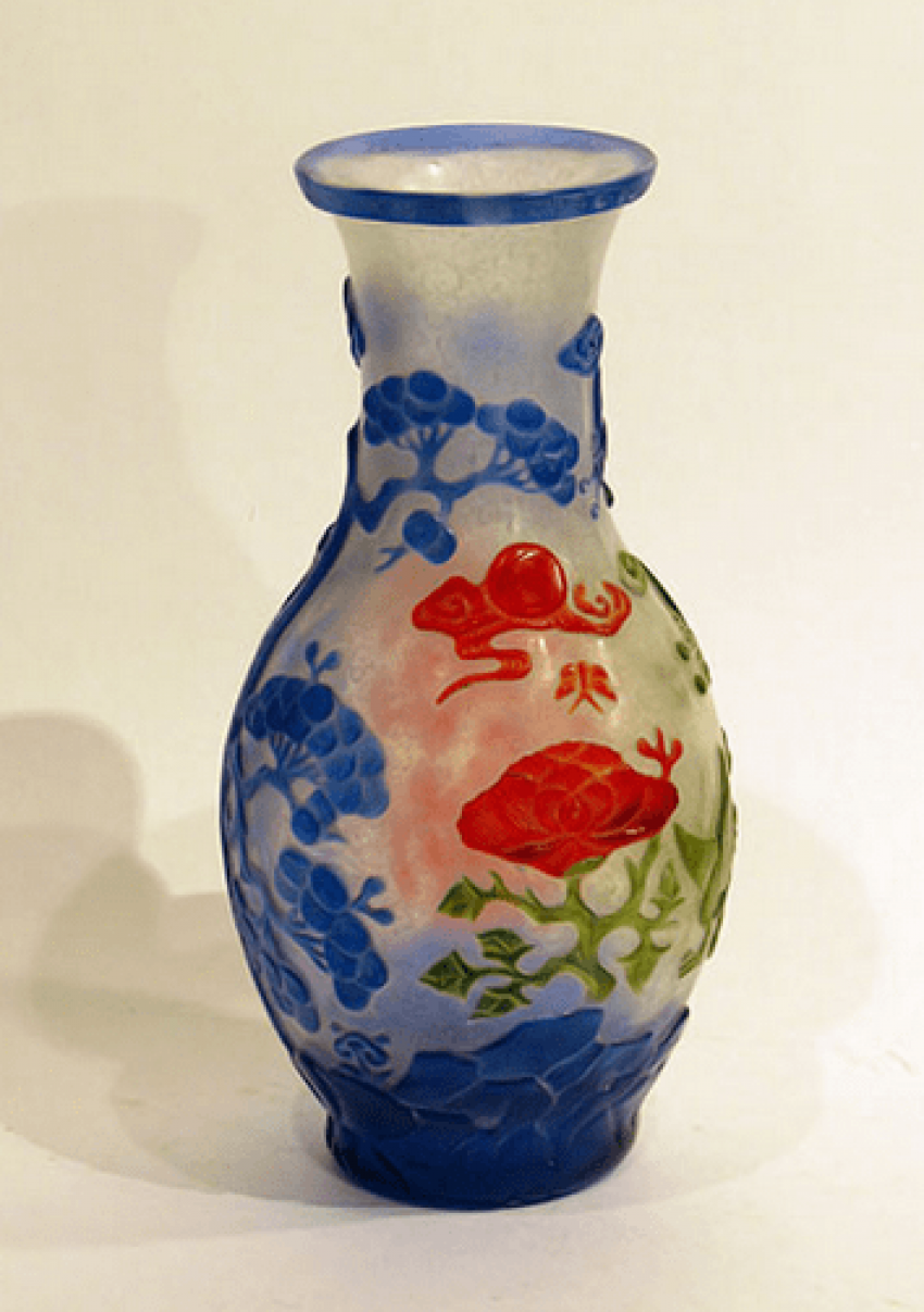 "Vase ""colors of nature""China - photo 1"