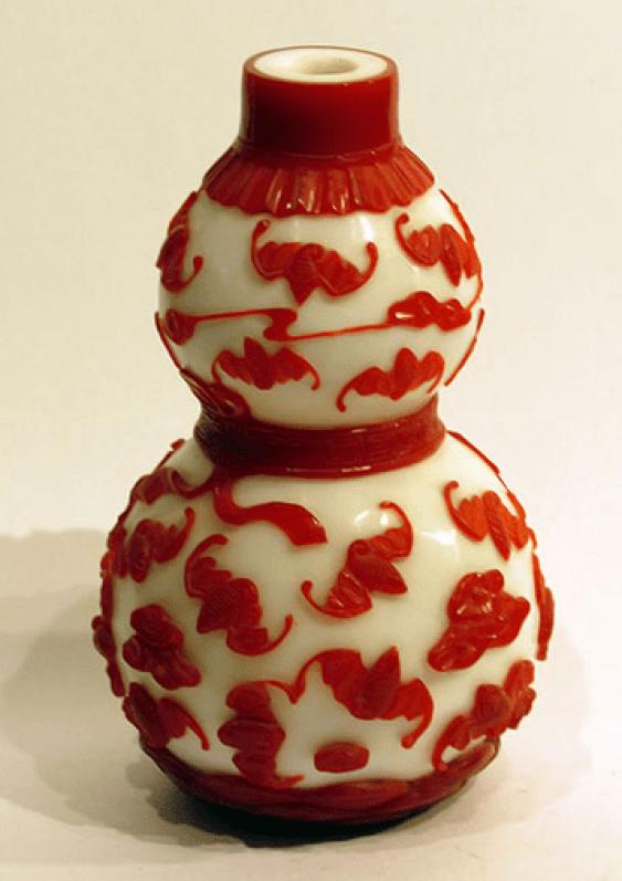 Vase China, glass - photo 1