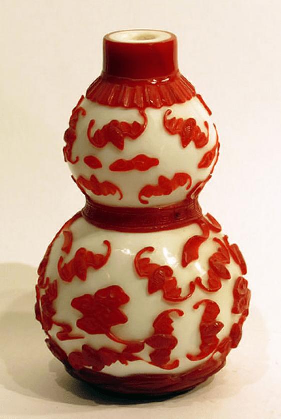 Vase China, glass - photo 4