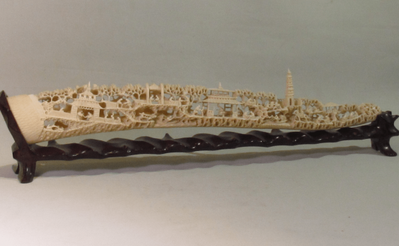 China, jade carving of the bones. - photo 2