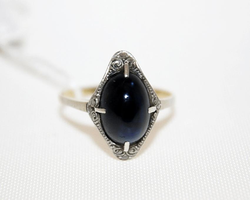 Кольцо с сапфиром - фото 2