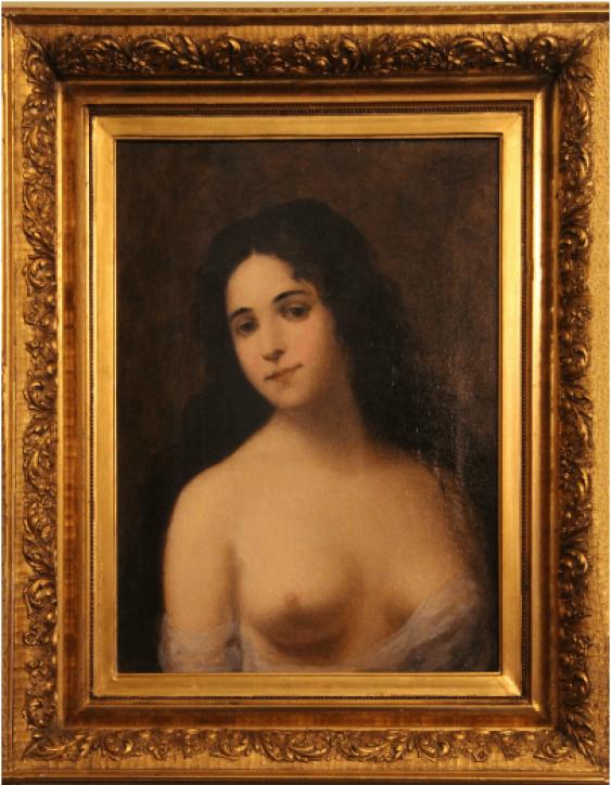 Portrait d'une femme - photo 1