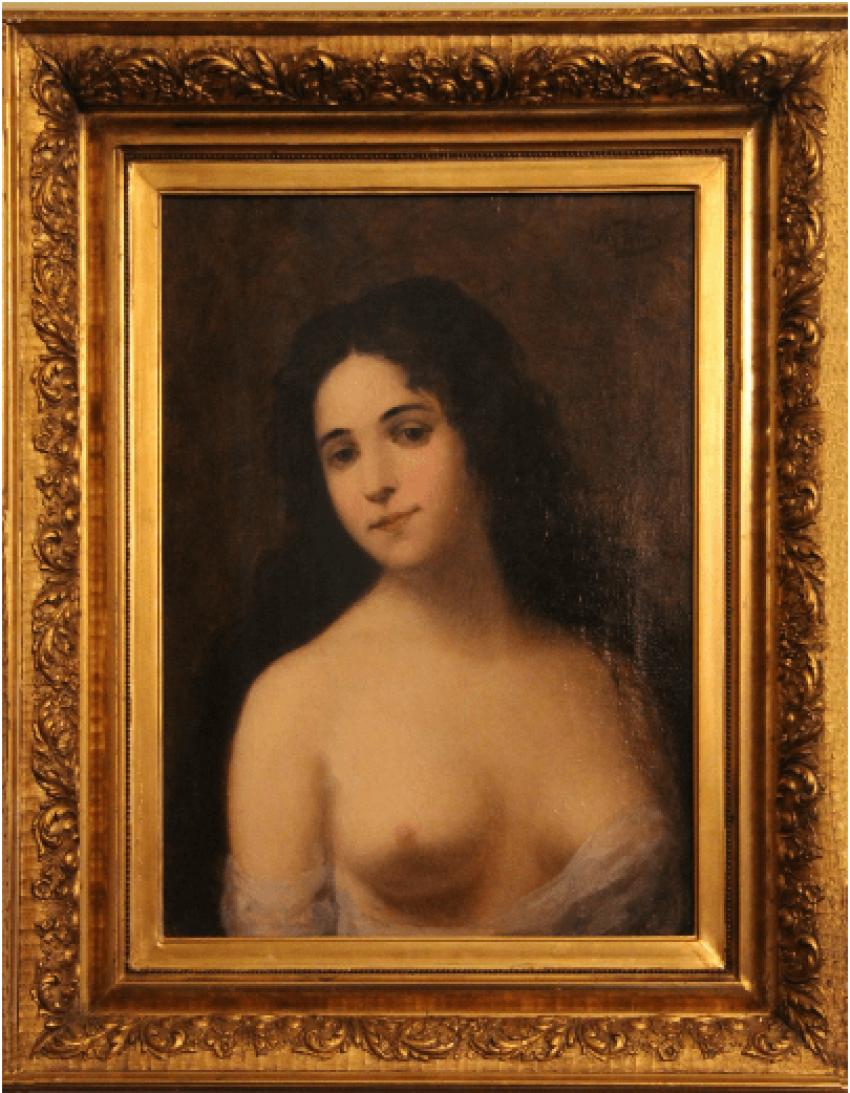 Female portrait - photo 1