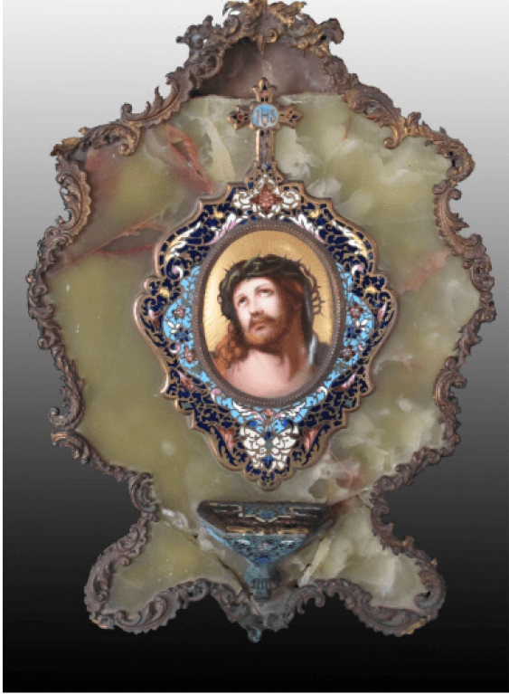 Christ in crown of thorns - photo 1