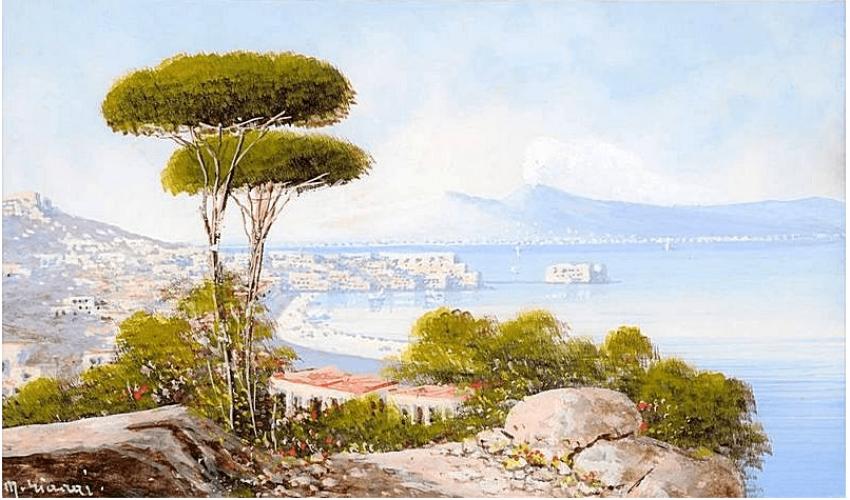 author: M. Gianni, Italy, end of XIX century, gouache - photo 1