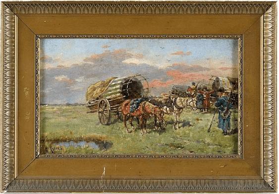 auteur: Adolf Рыльски l'Autriche, la fin du XIXE siècle, huile sur toile - photo 1