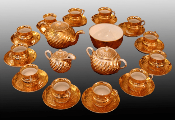 Tea set for twelve people - photo 1