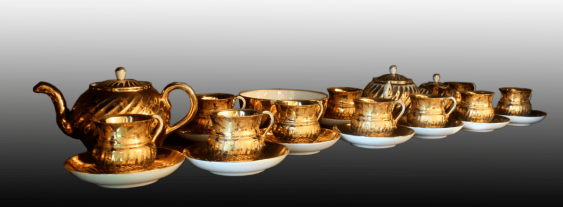 Tea set for twelve people - photo 2