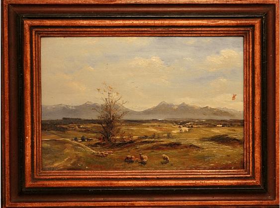 Western Europe, beginning of XX century, oil on wood - photo 1