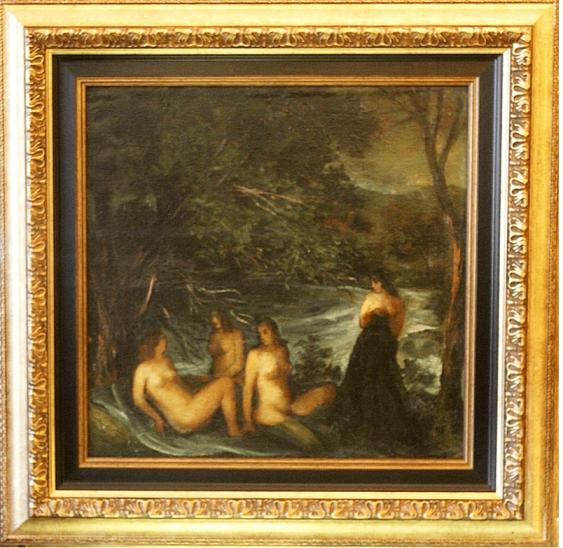 Cornelius Sanadze (1907 - 1982) 1940 - 1950 - ies, oil on canvas - photo 1