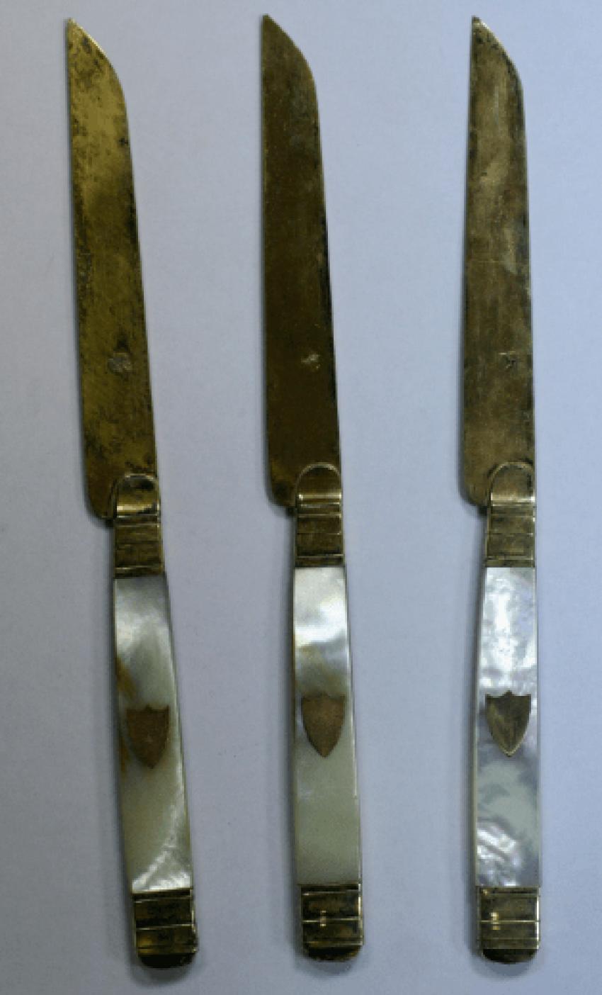 12 dessert knives - photo 1
