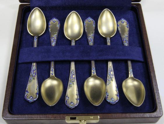 Six teaspoons - photo 2